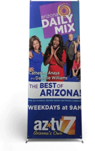AZTV Indoor Banner