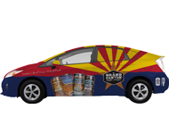 Car Wrap for Grand Canyon Brewing