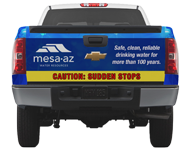 Truck Wrap for City of Mesa