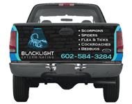 Truck Wrap for Blacklight Exterminating