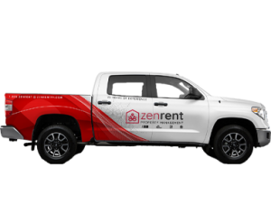 Truck Wrap for Zenrent Property Management