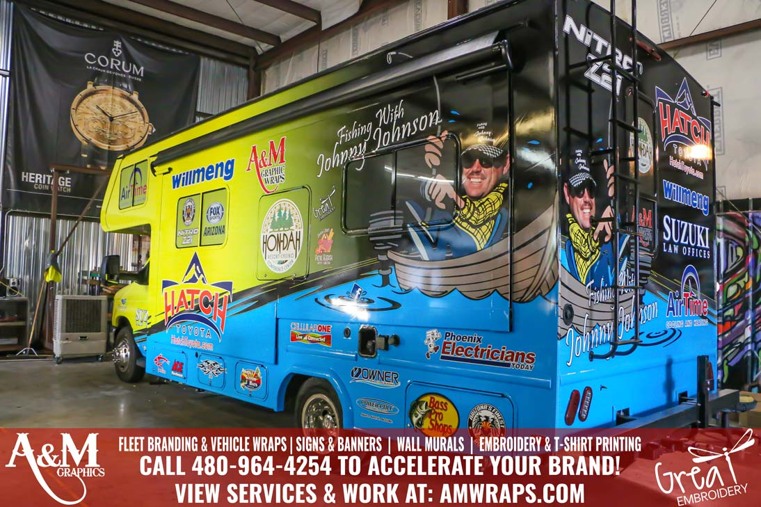 RV Wrap for Fishing with Johnny Johnson