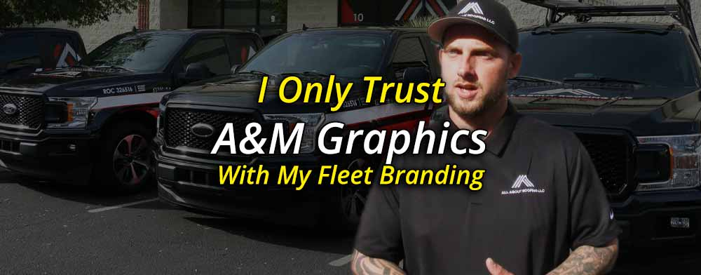 All About Roofing Only Trusts A&M Graphics